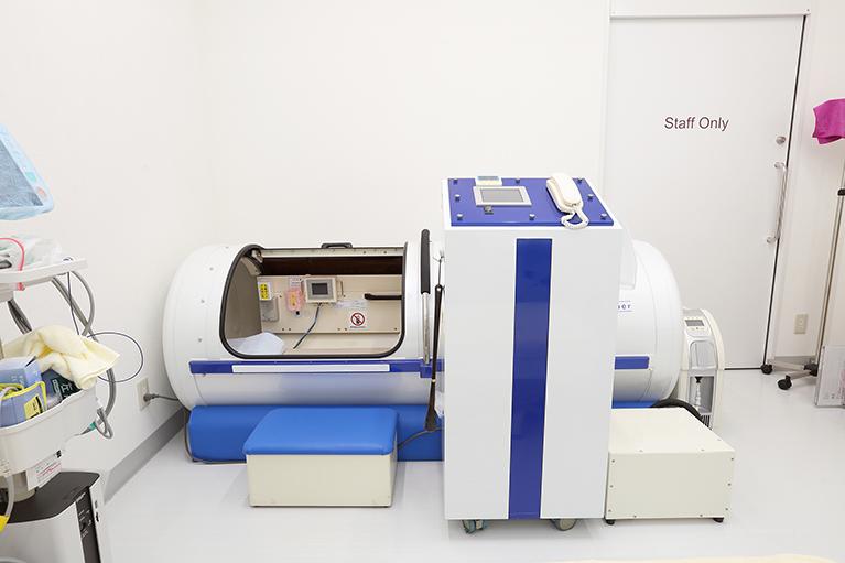 自費診療(高圧酸素療法)